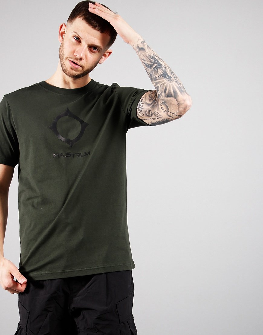 MA.Strum Distort Logo T-Shirt Oil Slick
