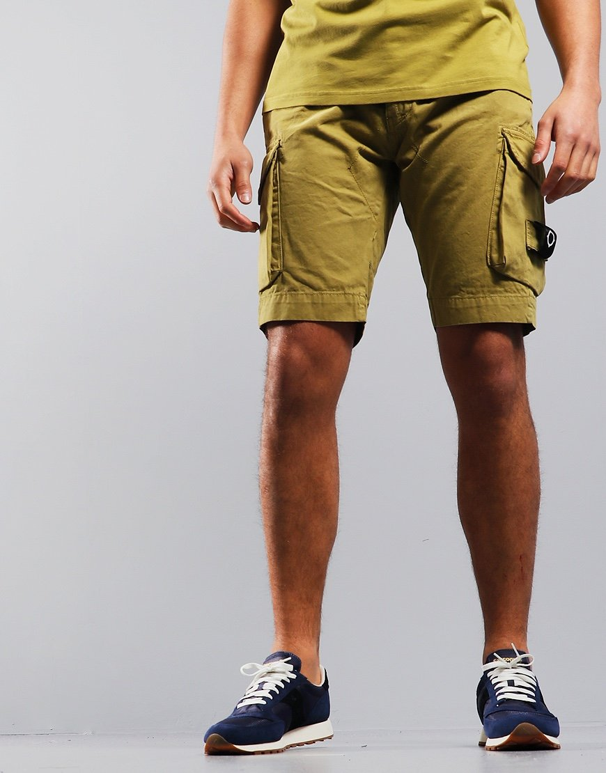 MA.Strum Garment Dyed Cargo Shorts Oasis