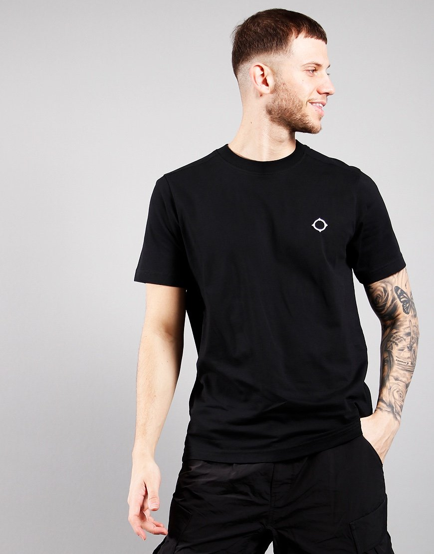 MA.Strum Short Sleeved Icon Tee Jet Black