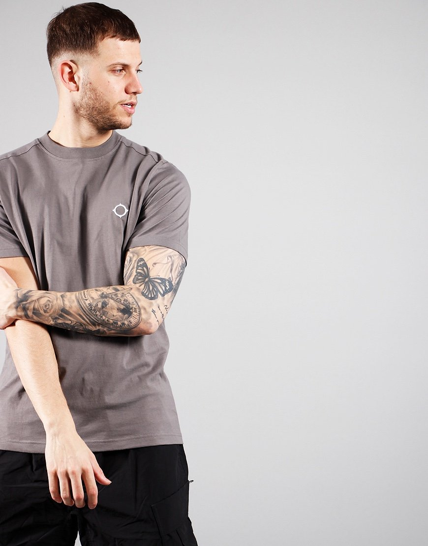MA.Strum Short Sleeved Icon T-Shirt Slate