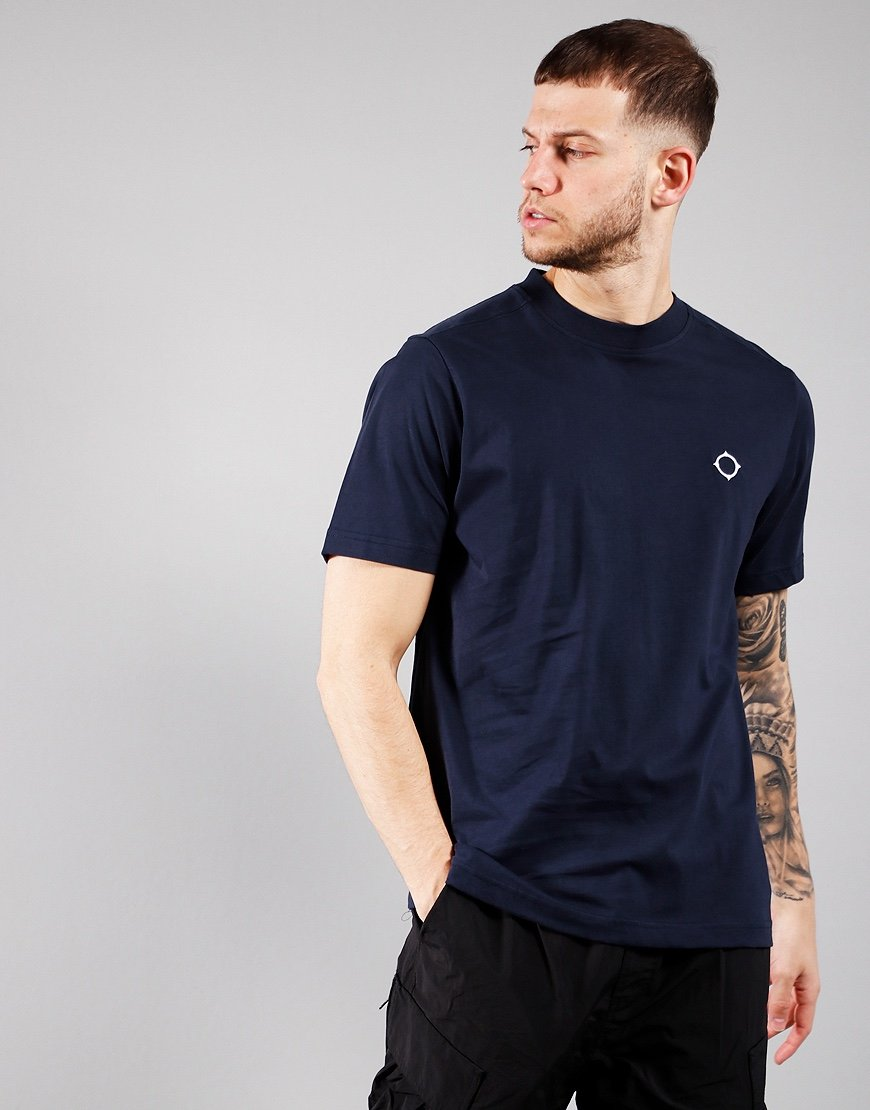 MA.strum Short Sleeved Icon T-Shirt Ink Navy