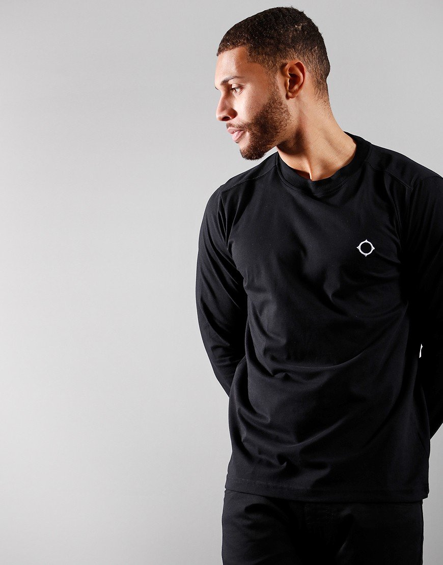 MA.Strum Long Sleeved Icon T-Shirt Black