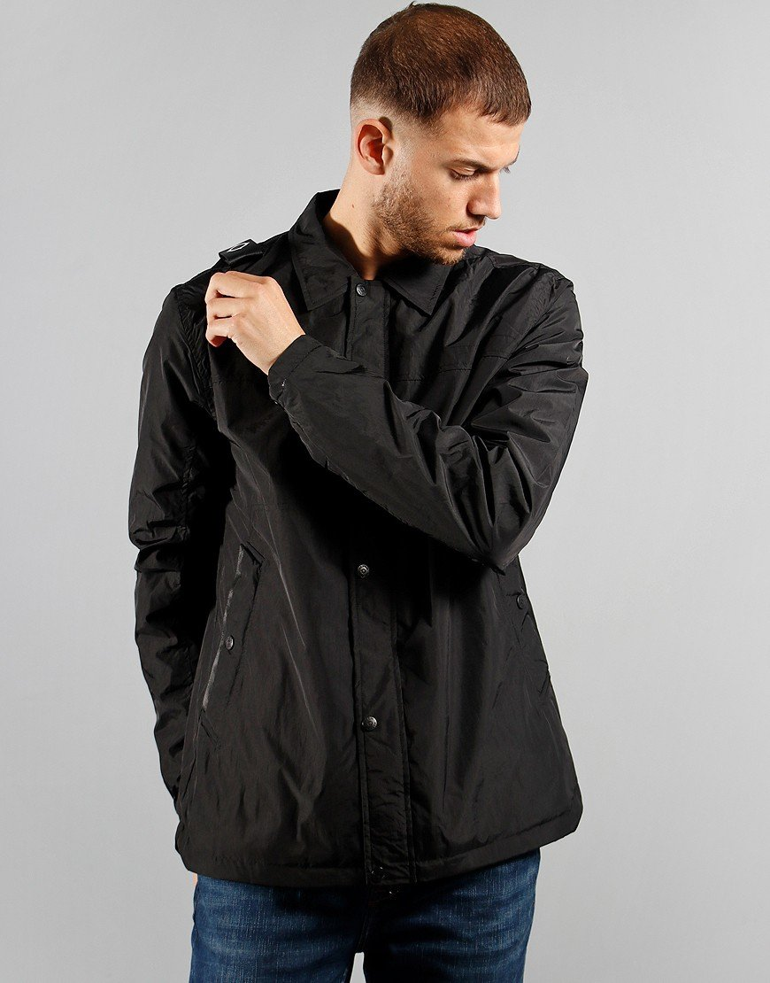 MA.Strum NT20 Overshirt Jet Black