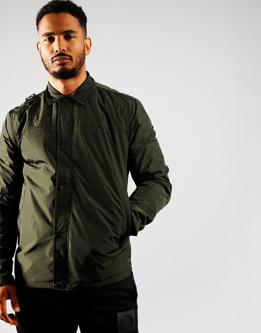 MA.Strum NT20 Overshirt Oil Slick