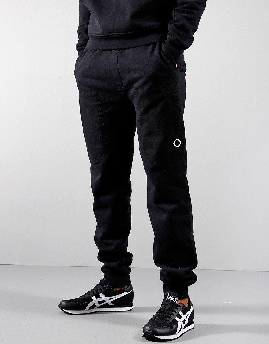 MA.Strum Patch Pocket Track Pants Jet Black