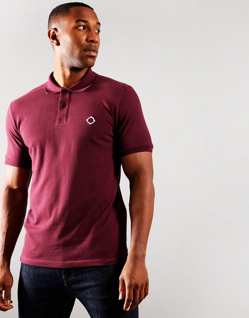 MA.Strum Short Sleeved Pique Polo Shirt Fig
