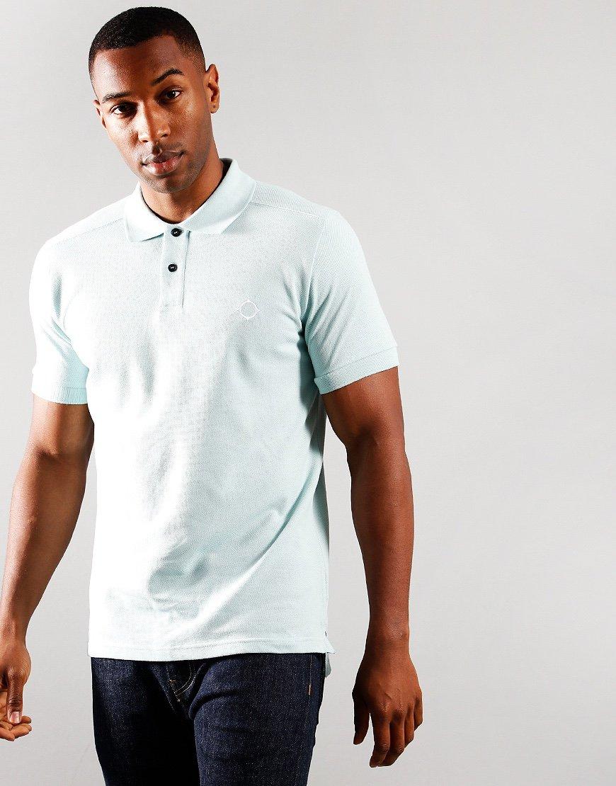 MA.Strum Short Sleeved Pique Polo Shirt Mist Green
