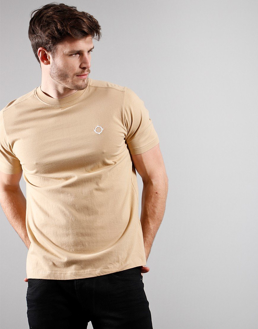 MA.Strum Short Sleeved Icon T-Shirt Sand