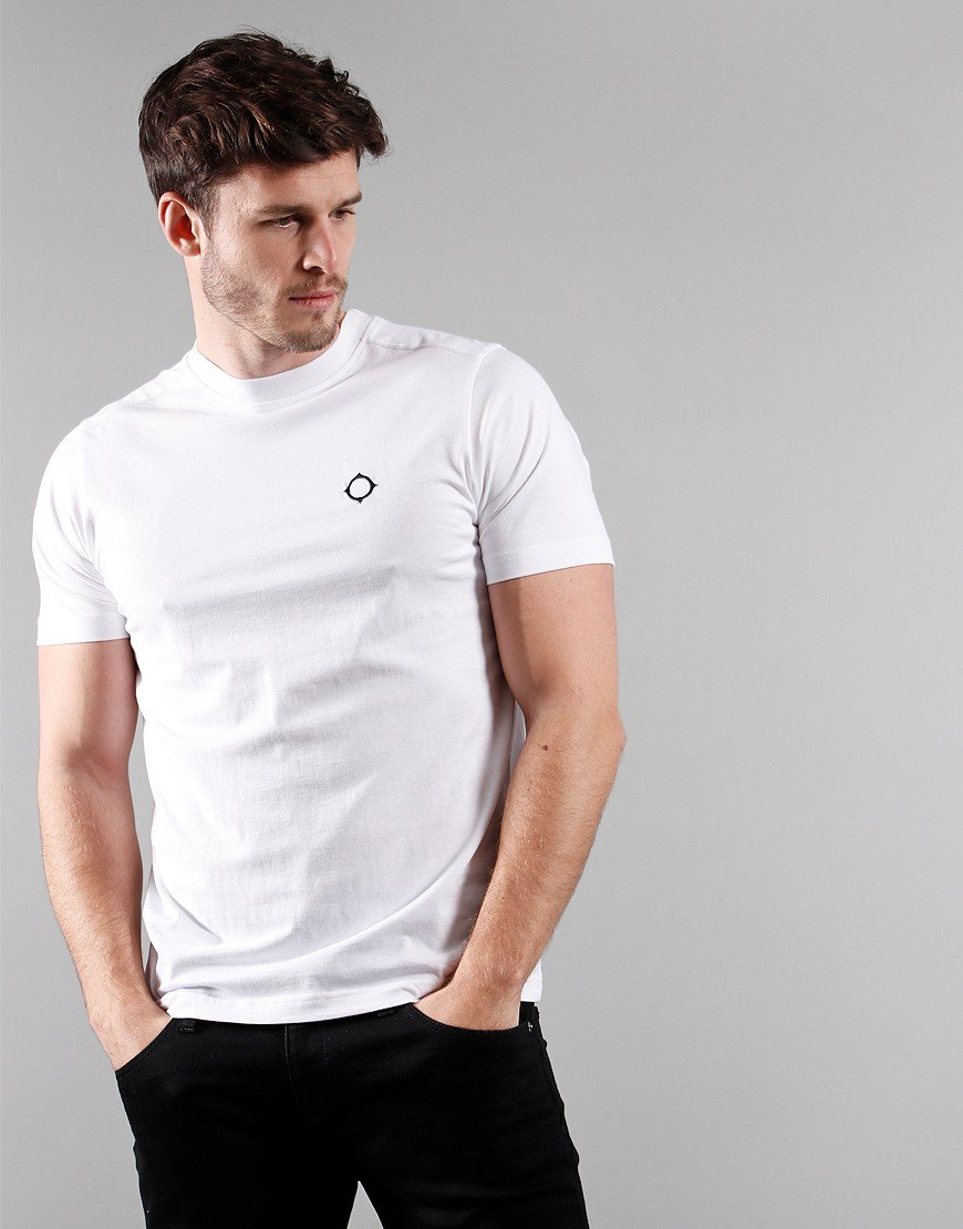 MA.Strum Short Sleeved Icon T-Shirt Optic White