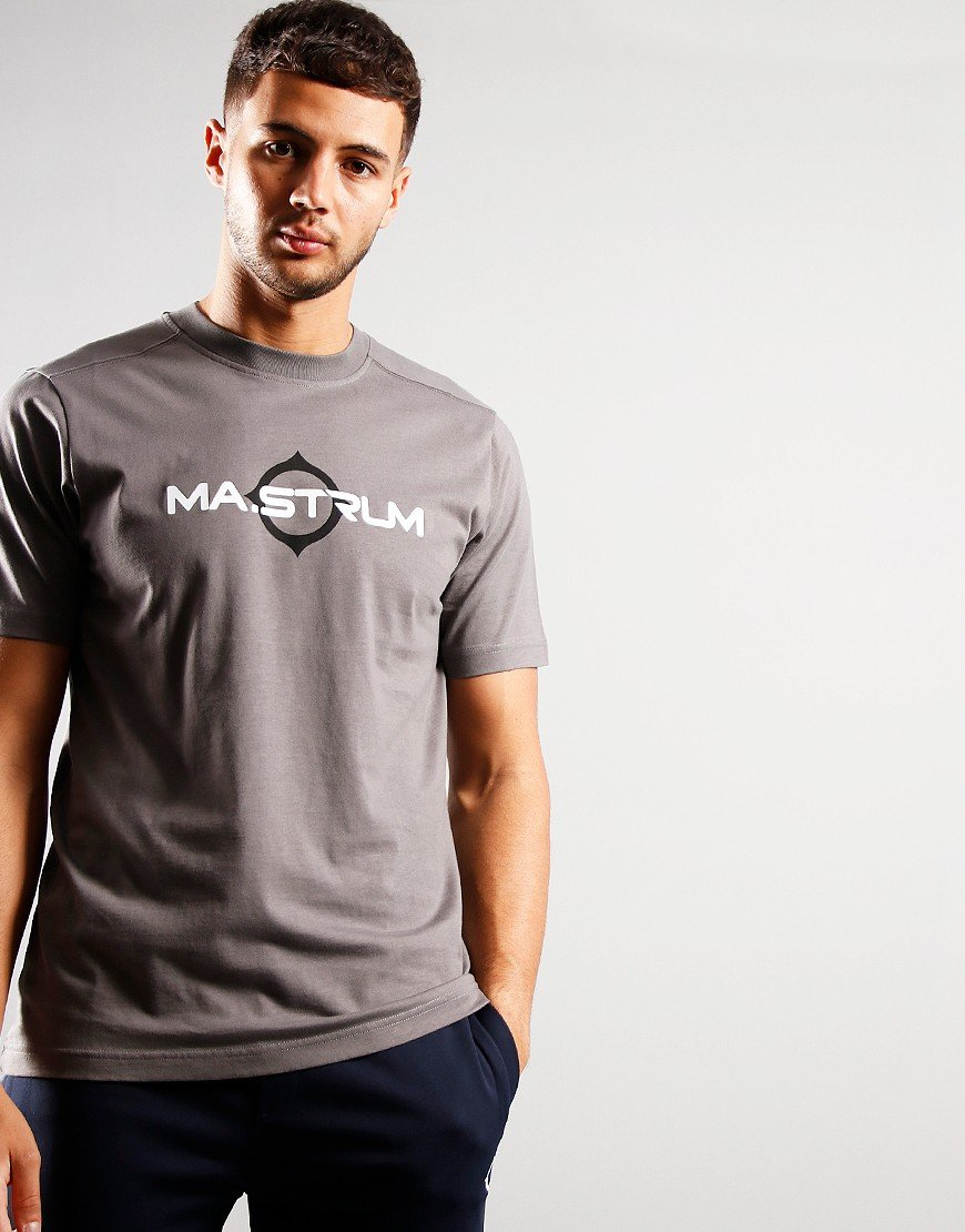 MA.Strum Short Sleeve Logo T-Shirt Dark Slate