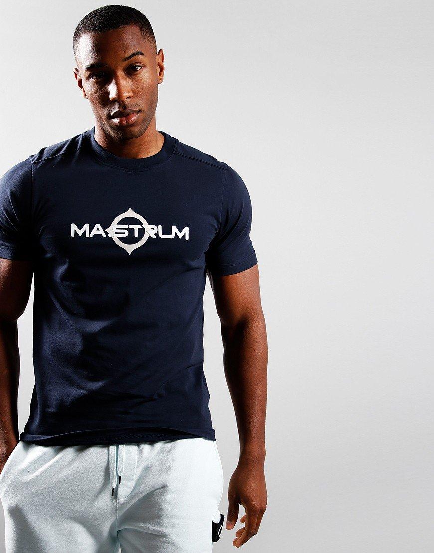 MA.Strum Short Sleeve Logo T-Shirt Ink Navy