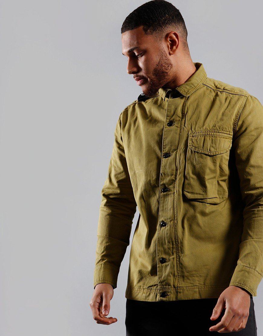 MA.Strum Garment Dyed Overshirt Oasis