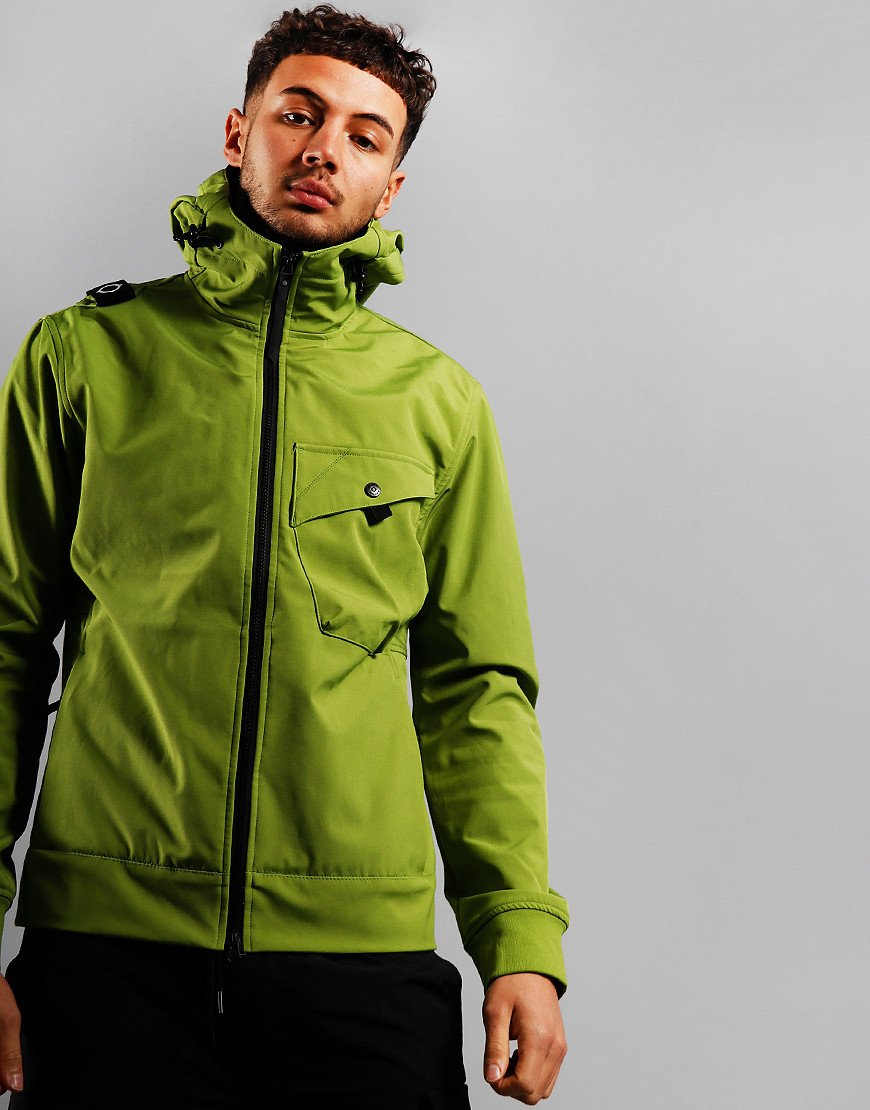 MA.Strum Hooded Softshell Jacket Malum Green