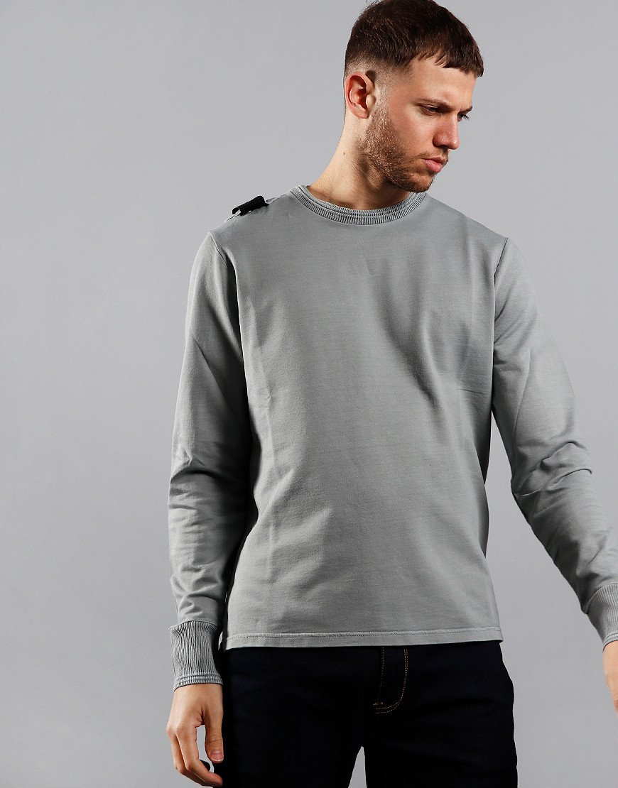 MA.Strum Lightweight Garment Dyed Crew Sweat Quicksilver