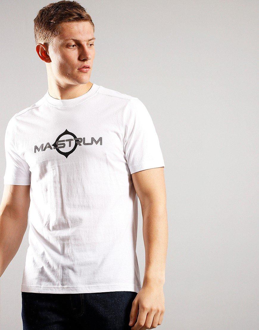 MA.Strum Short Sleeve Logo Tee Optic White