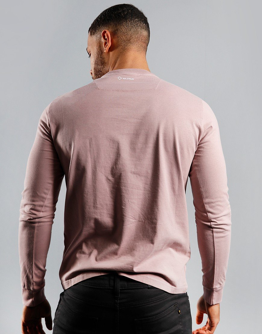 MA.Strum Icon Long Sleeve T-Shirt Cassis