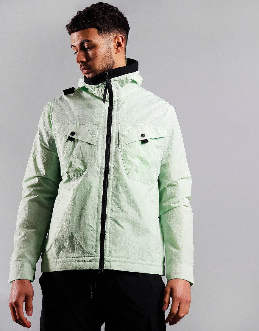 MA.Strum NT2 Nylon Taffeta Hooded Jacket Mint