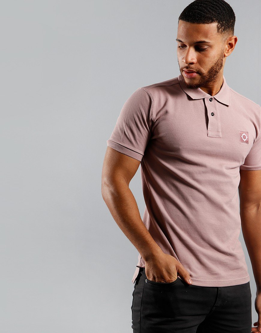 MA.Strum Piqué Polo Shirt Cassis