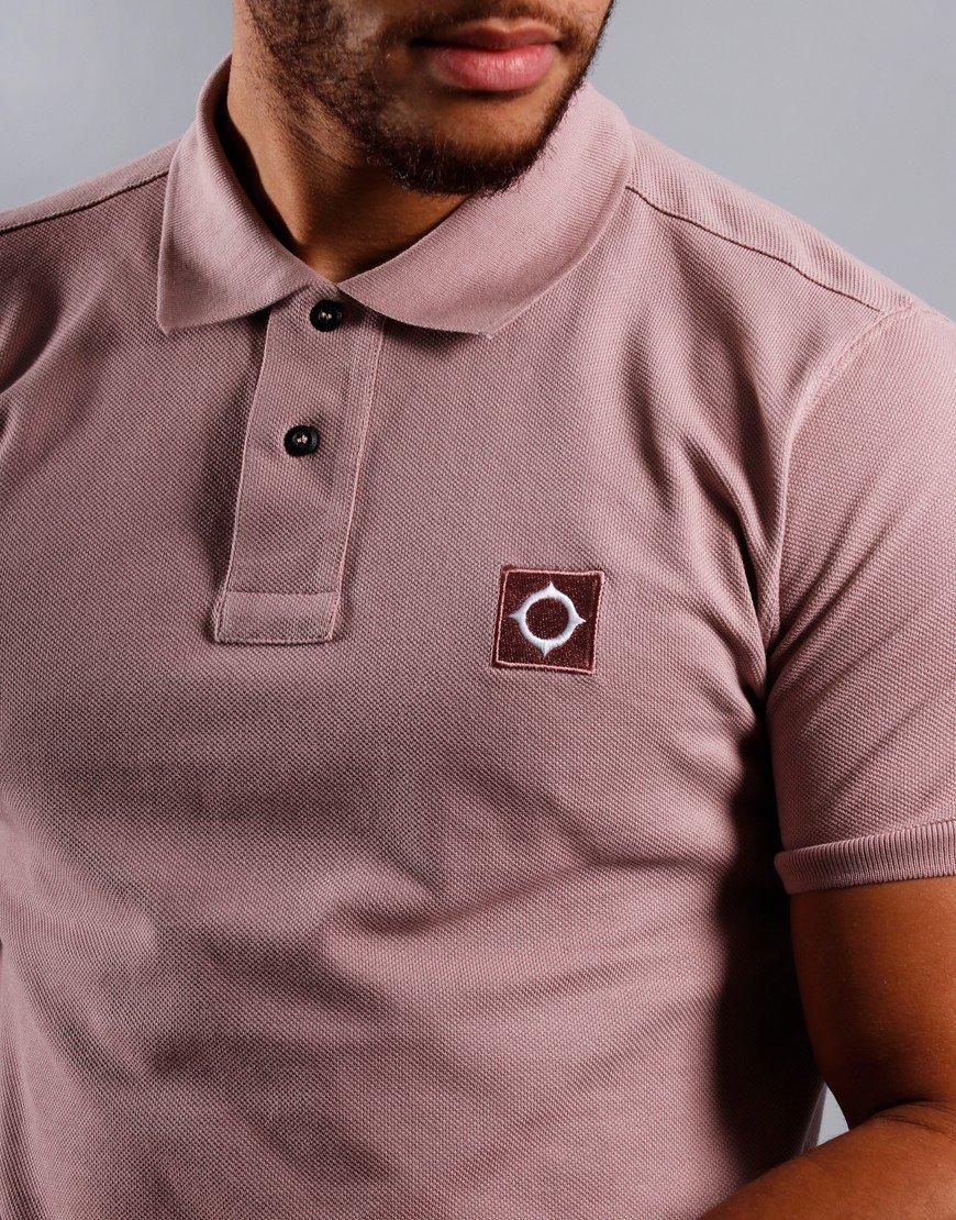 MA.Strum Piqué Polo Shirt Cassis