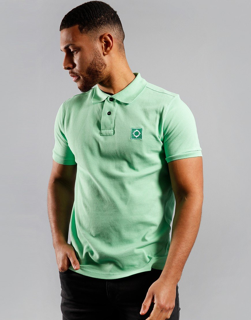 MA.Strum Piqué Polo Shirt Mint