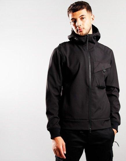 MA.Strum Softshell-C Jacket Jet Black