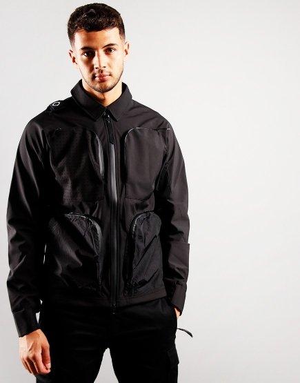 MA.Strum Softshell Jacket Jet Black