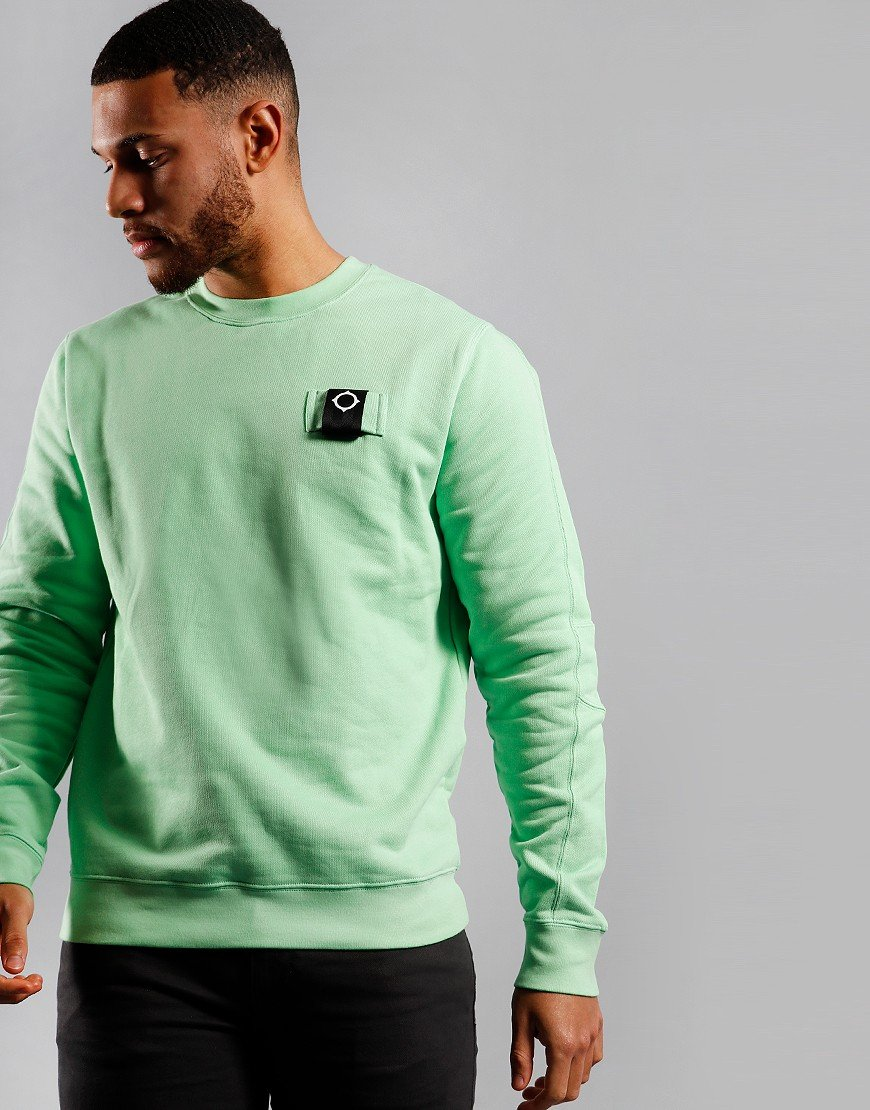 MA.Strum Training Crew Sweat Mint