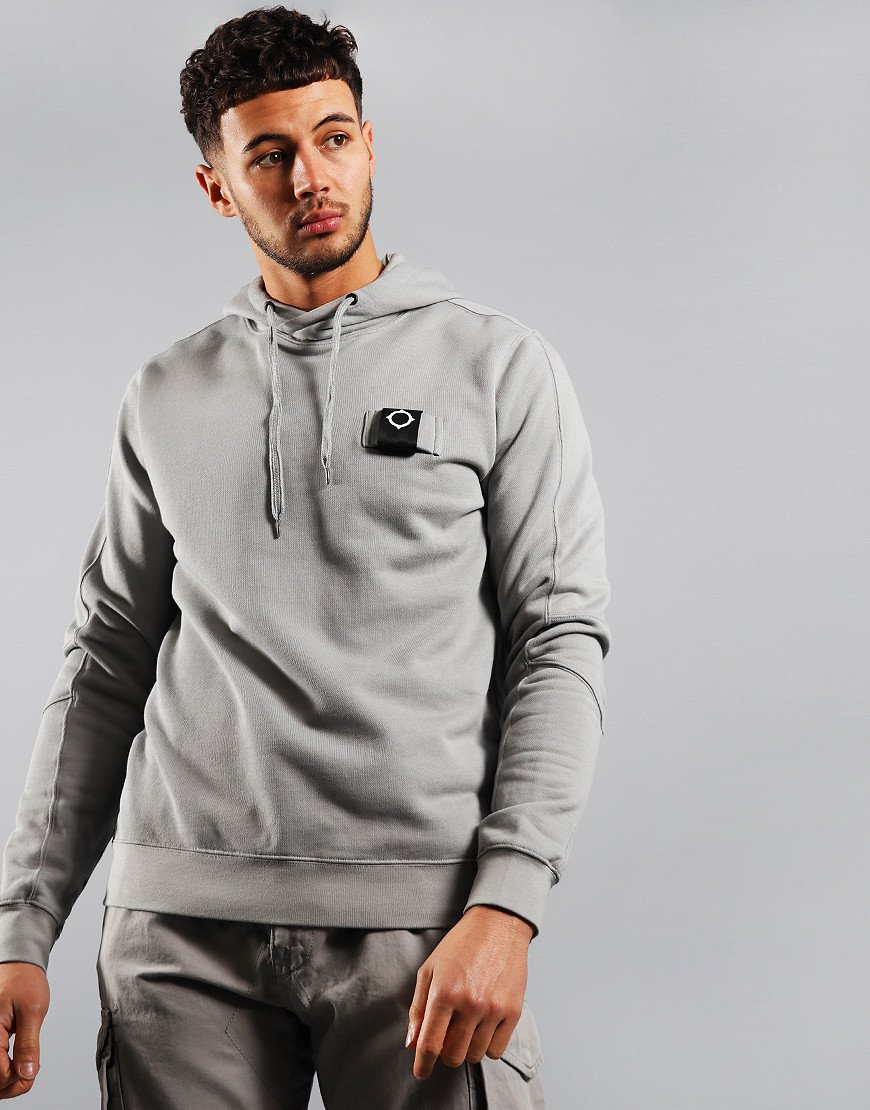 MA.Strum Overhead Training Hoodie Quicksilver