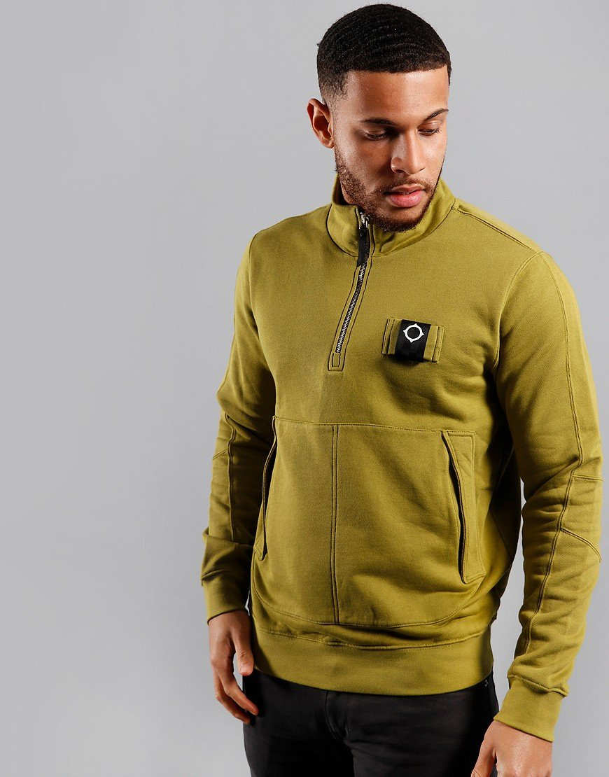 MA.Strum Training Quarter Zip Sweat Oasis