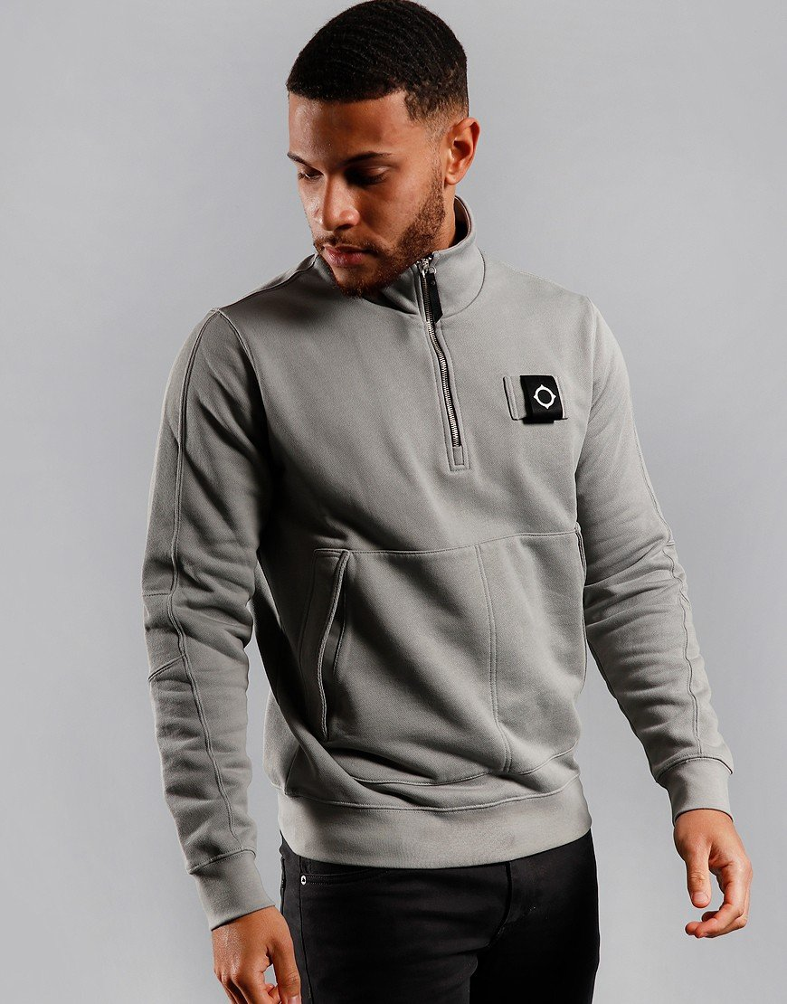 MA.Strum Training Quarter Zip Sweat Quicksilver