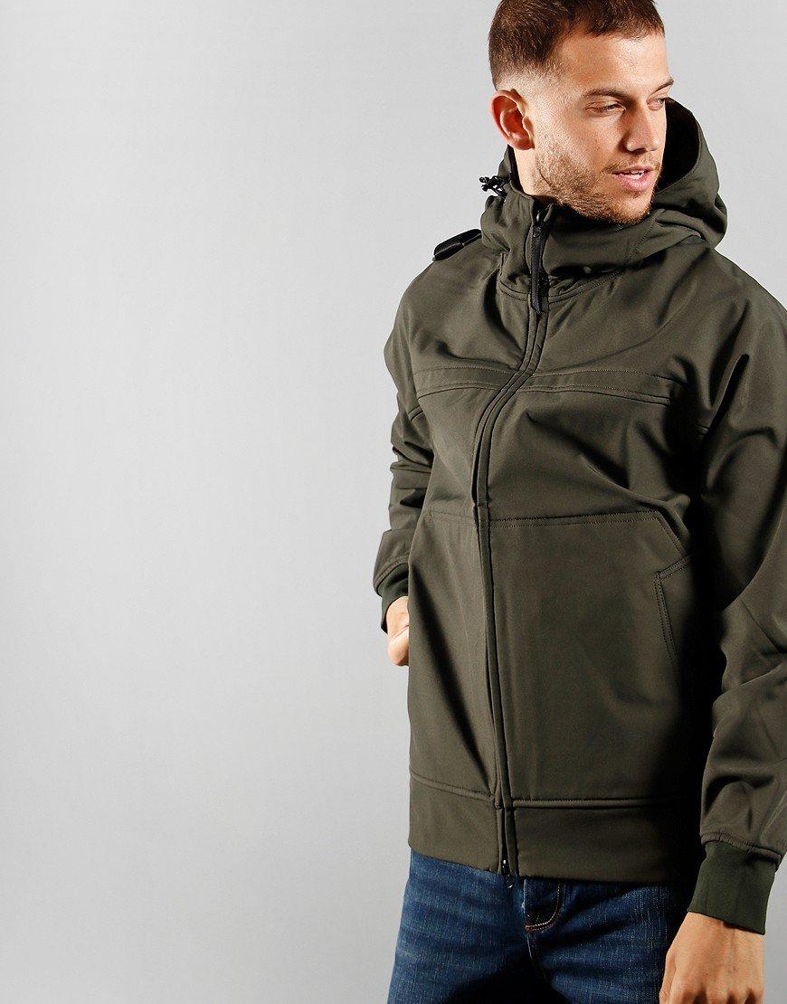 MA.Strum Full Zip Hood Softshell Oil Jacket