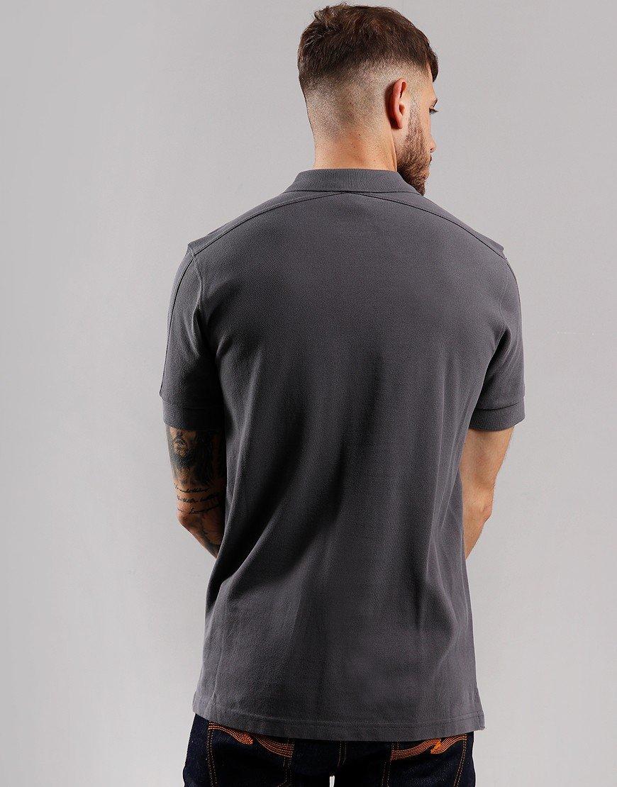 MA.Strum Pique Polo Shirt Graphite