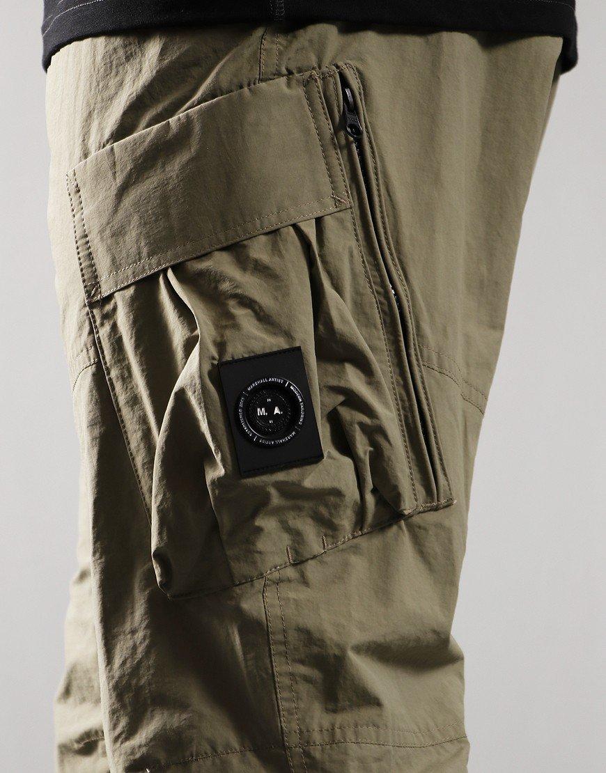 Marshall Artist Cotton Polyamide Cargo Pants Faded Khaki