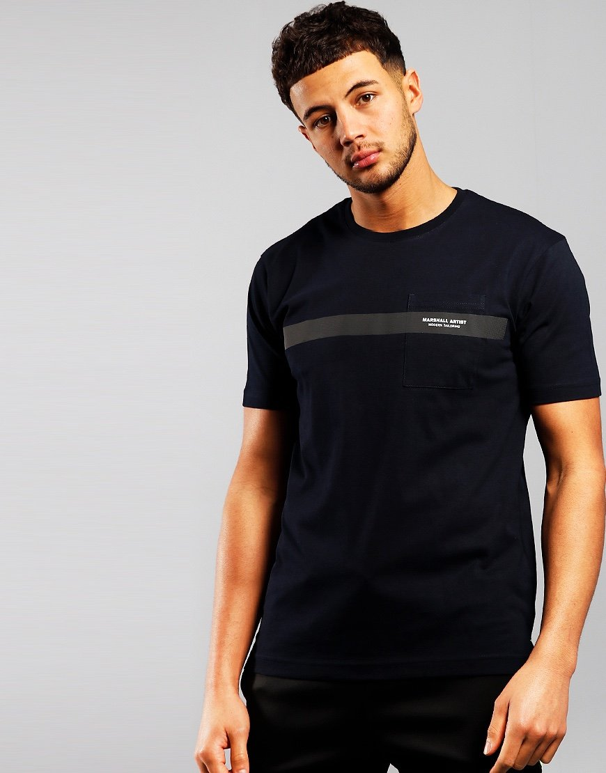 Marshall Artist Irid T-Shirt Navy