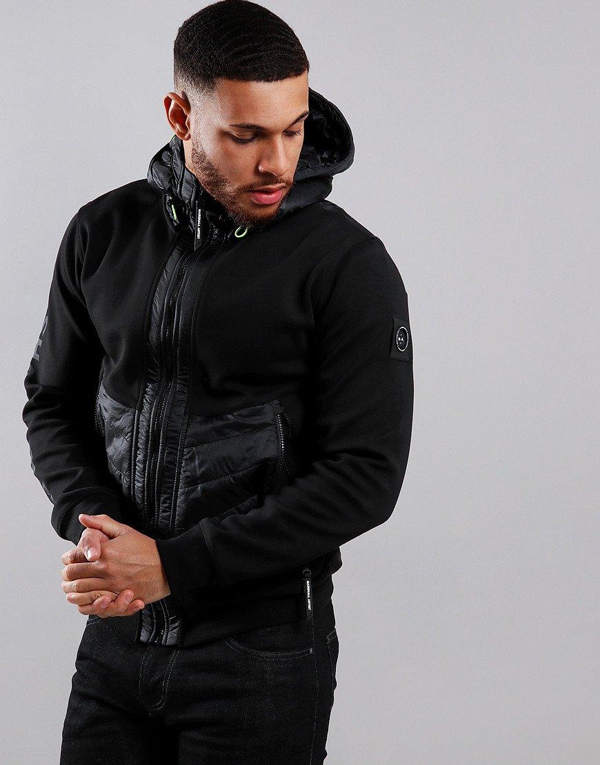 Marshall Artist X Aitch Alpine Full Zip Sweat Jacket Black