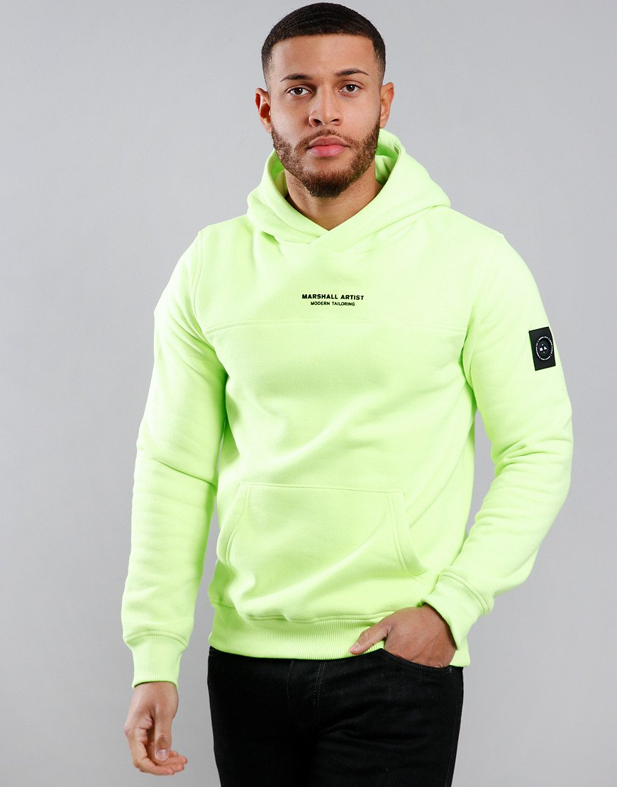 Marshall Artist X Aitch Siren OTH Hooded Sweat Neon Yellow