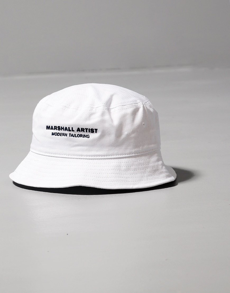 Marshall Artist Bucket Hat White