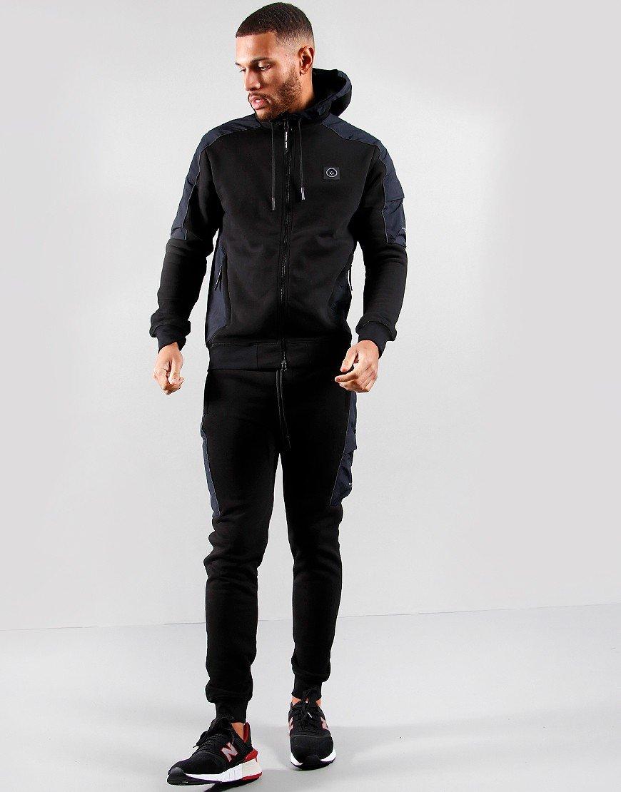 Marshall Artist Deflektor Full Zip Sweat Black