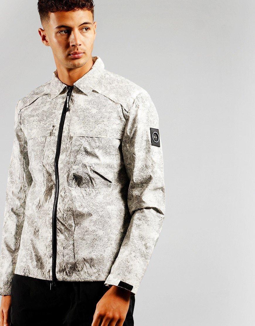 Marshall Artist Dif Overshirt White/Black