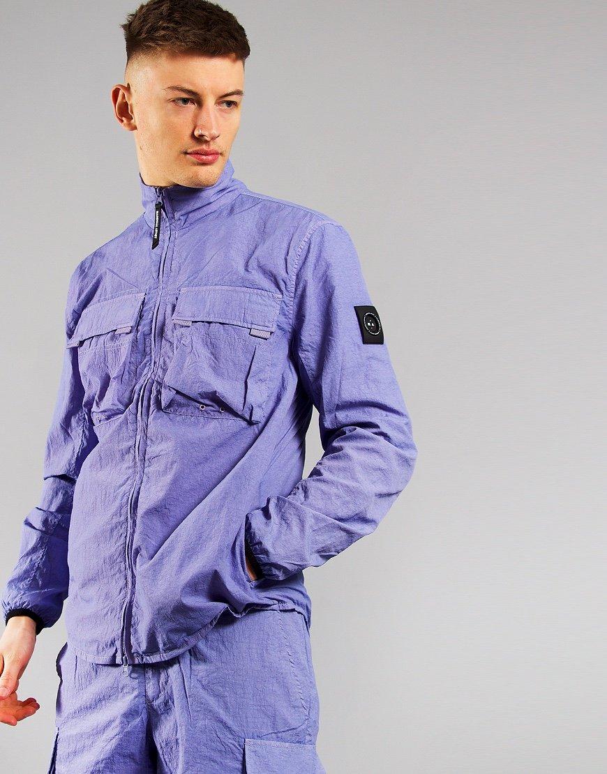 Marshall Artist Garment Dyed Parachute Overshirt Lilac