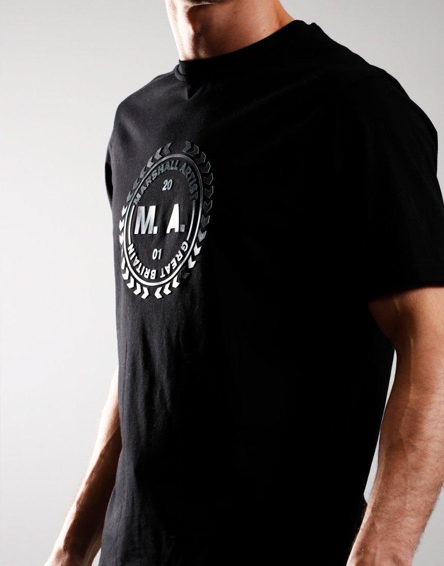 Marshall Artist Hi-Density T-Shirt Black