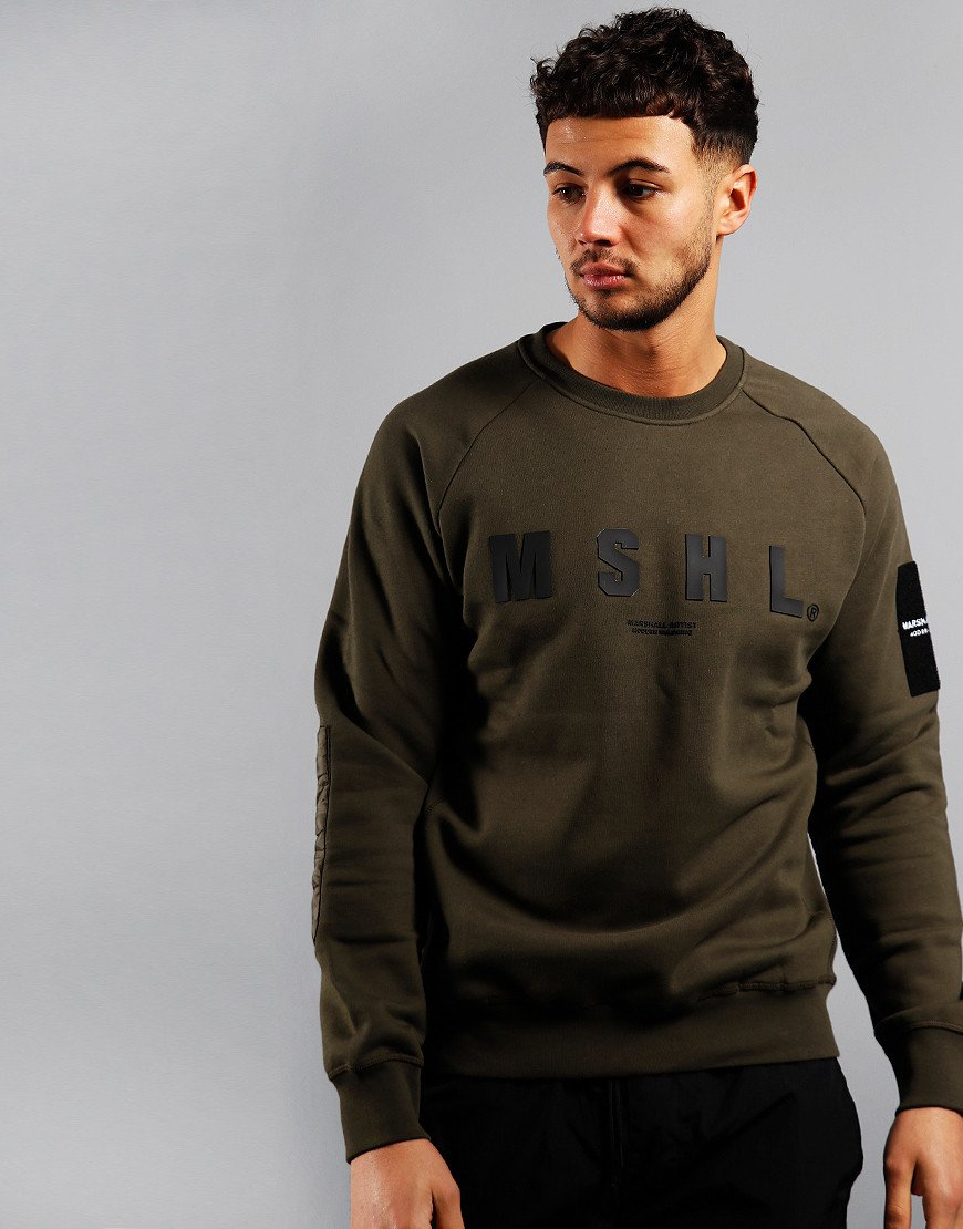 Marshall Artist Hybrid Sweat Khaki