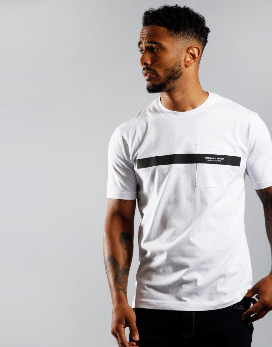 Marshall Artist Irid T-Shirt White