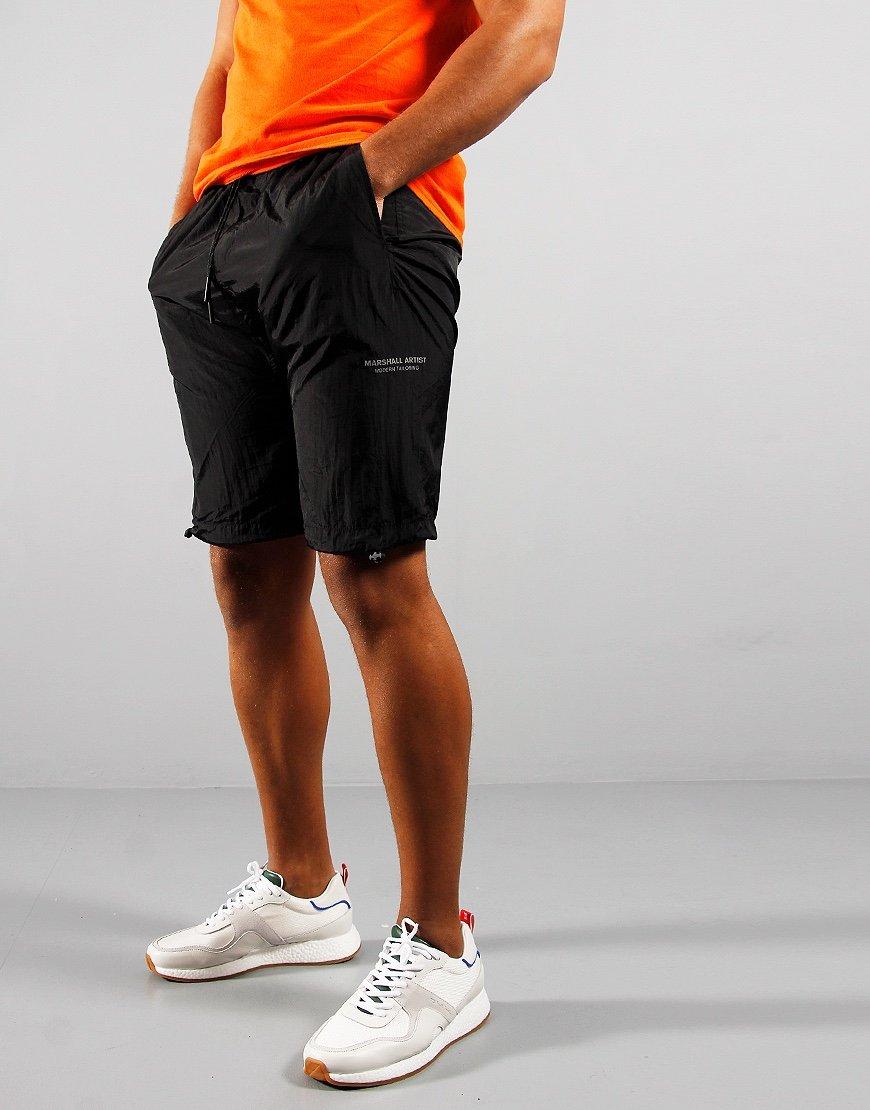 Marshall Artist Liquid Nylon Shorts Black