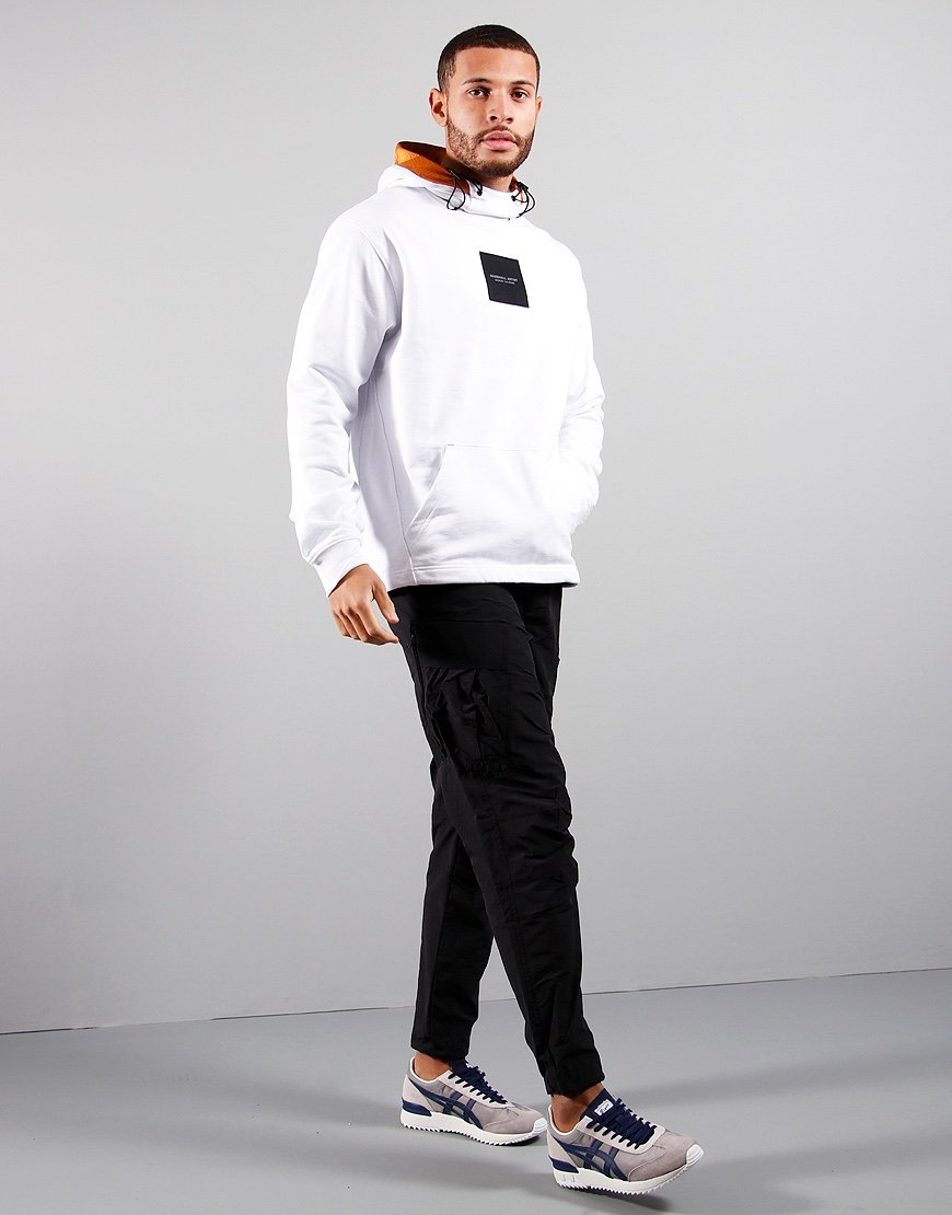 Marshall Artist Liquid Ripstop OTH Hooded Sweat White