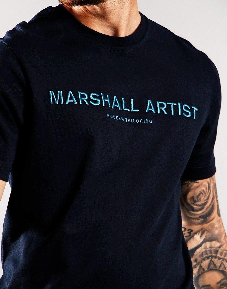 Marshall Artist Non Ath Tee Navy
