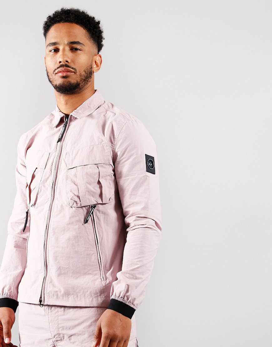 Marshall Artist Cotton Polyamide Overshirt Rose Gold