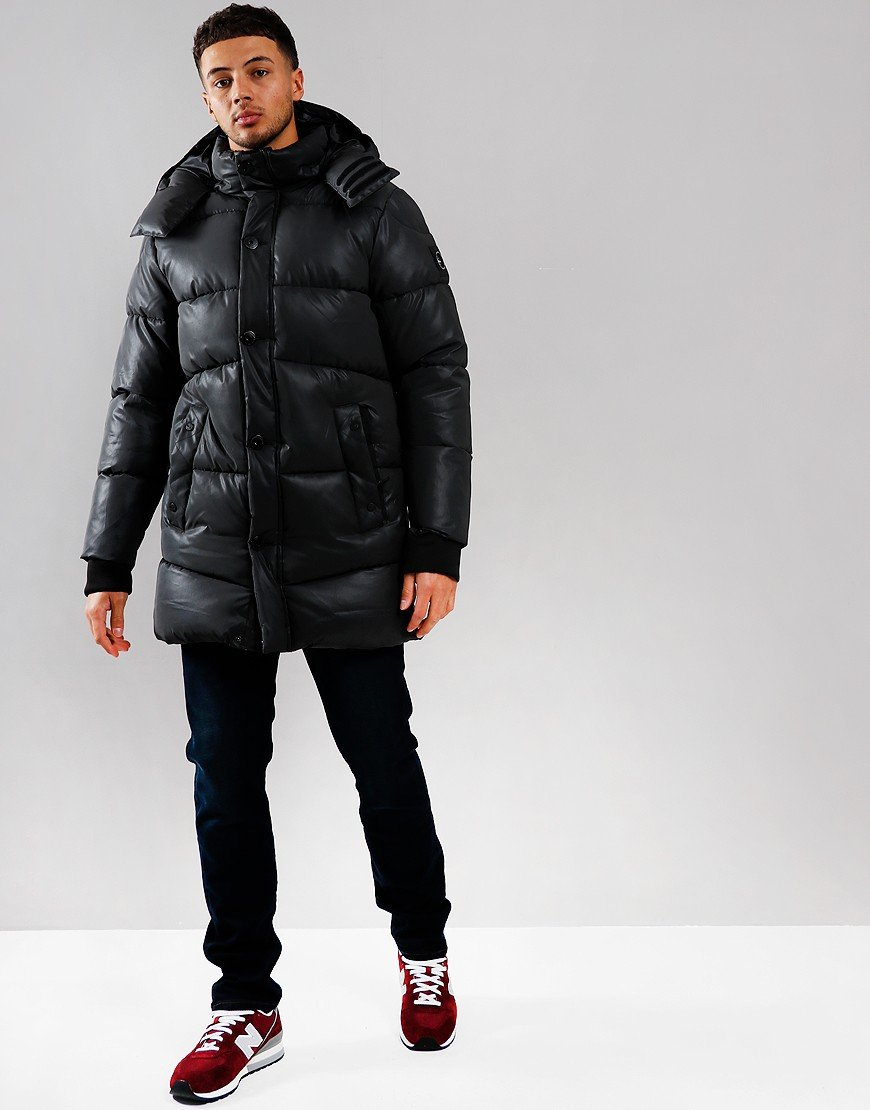 Marshall Artist Matte Reflex Bubble Jacket Black