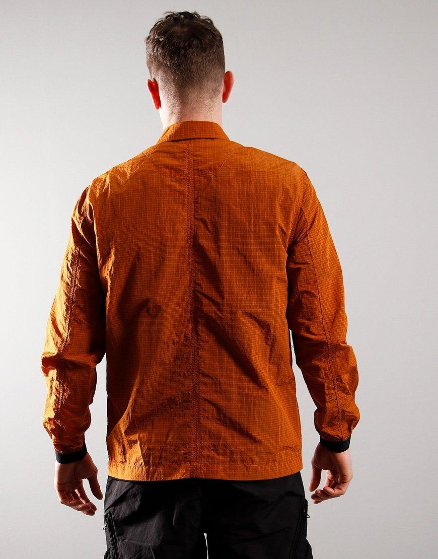 Marshall Artist Liquid Ripstop Overshirt Rust