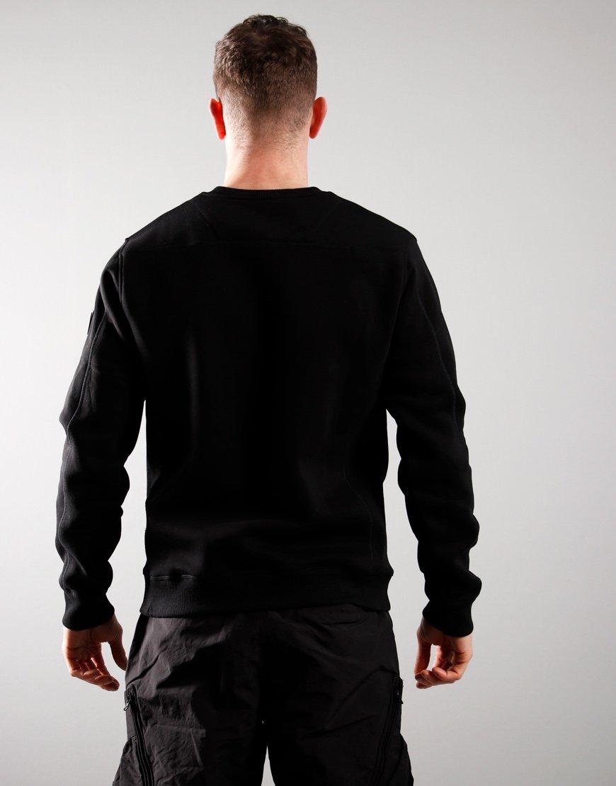 Marshall Artist Siren Crew Neck Sweat Black
